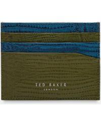Ted Baker - Exotic Print Cardholder - Lyst
