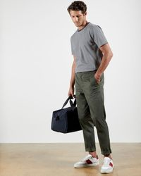 Ted Baker Relaxed Drawstring Trousers - Multicolor