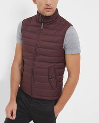 Ted Baker - Quilted Down Filled Gilet - Lyst