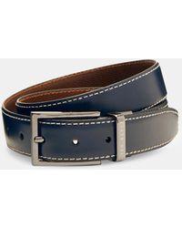 Ted Baker - Leather Reversible Belt - Lyst