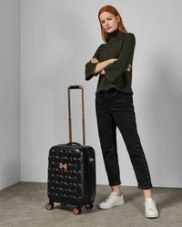Ted Baker Bow Detail Small Suitcase - Black