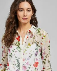 Ted Baker Hedgerow Blouse - White
