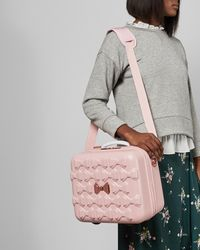 Ted Baker Tbw0204 Bow Detail Vanity Case - Pink