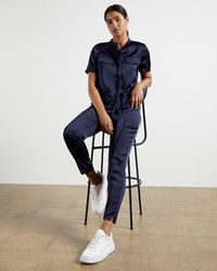 Ted Baker Utility Joggers - Blue