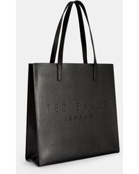 6348f8f531 Ted Baker - Crosshatch Large Icon Bag - Lyst