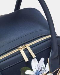 Ted Baker Savanna Nylon Travel Bag - Blue