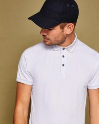 Ted Baker - Spot Print Polo Shirt - Lyst