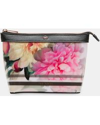 Ted Baker - Painted Posie Small Wash Bag - Lyst