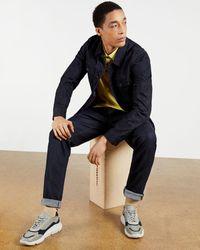 Ted Baker Chunky Sole Runner - Gray