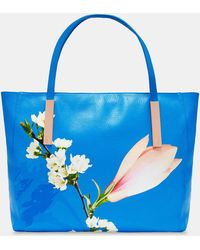 Ted Baker - Harmony Large Leather Tote Bag - Lyst