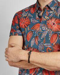 Ted Baker - Armband Aus Karbonfaser - Lyst