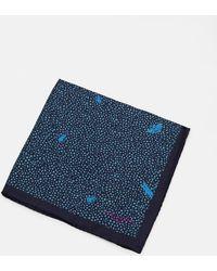 Ted Baker - Bug Print Silk Pocket Square - Lyst