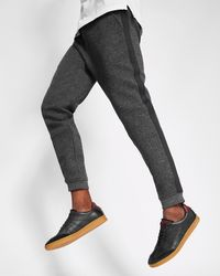 Ted Baker - Textured Jersey Jogger-style Trousers - Lyst
