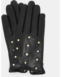 Ted Baker - Pearl Scattered Leather Gloves - Lyst