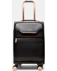 Ted Baker Metallic Trim Small Suitcase - Black