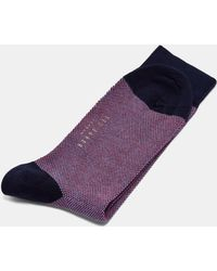 Ted Baker - Textured Cotton Socks - Lyst
