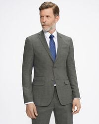 Ted Baker Chaqueta Slim Fit Con Textura - Gris