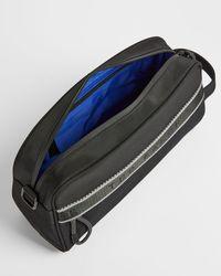 Ted Baker Branded Nylon Washbag - Black