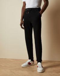 Ted Baker Pantalón Jogger De Algodón - Negro