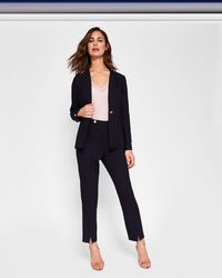 Ted Baker - Split Hem Skinny Suit Trousers - Lyst