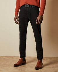 Ted Baker Vaquero Negro Tapered Fit