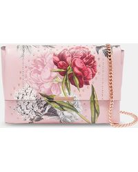 Ted Baker - Palace Gardens Leather Cross Body Bag - Lyst