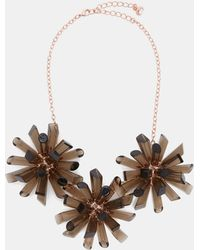 Ted Baker - Triple Geo Burst Necklace - Lyst
