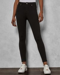 3e0a3c797dbb8 Ted Baker Fioni Western Jean Trousers in Black - Lyst