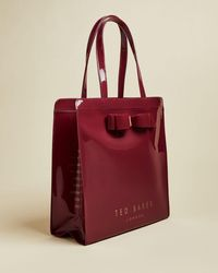 Ted Baker Bow Detail Large Icon Bag - Red