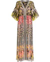 Temperley London Beaumont Claudette Kaftan - Multicolour