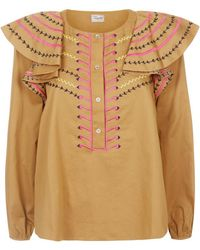 Temperley London - Expedition Blouse - Lyst