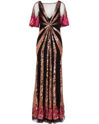 Temperley London - Sycamore Sequinned Gown - Lyst