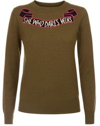 Temperley London - Dare Knit Jumper - Lyst