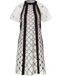 Temperley London Pixie Mini Dress - White