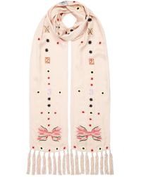 Temperley London - Kite Embroidered Dinner Scarf - Lyst