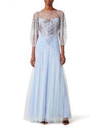 Temperley London Promise Dress - Blue