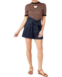 Temperley London Madame Knit Top - Blue