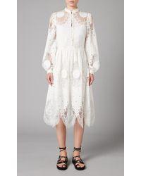 Temperley London Judy Shirt Dress - White