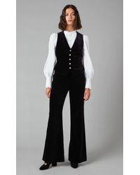 Temperley London Clove Velvet Trousers - Black