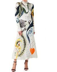 Temperley London Clementina Tie Dress - Multicolour