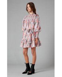 Temperley London Butterfly Print Dress - Multicolour
