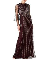Temperley London Queenie Tulle Gown - Multicolour