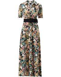 K-design - Maxi Dress Met Tropische Print - Lyst