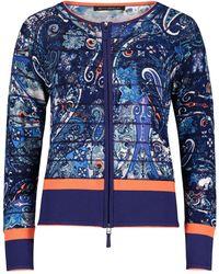 Betty Barclay Vest Met Paisley Print - Blauw