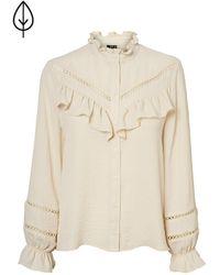 Vero Moda Shirt Met Ruches - Meerkleurig