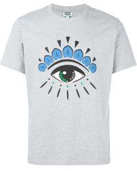 KENZO Printed T-shirt - Grey