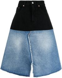 MM6 by Maison Martin Margiela Skirts Denim - Blue