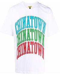 Chinatown Market Logo-print Cotton T-shirt - White
