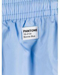 Mc2 Saint Barth Logo Swim Shorts - Blue