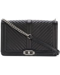 Rebecca Minkoff - Leather Handbag Quilted Slim Love - Lyst